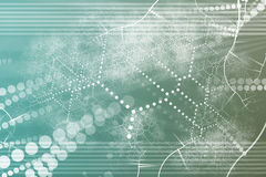 Samenvatting van het Netwerk van de technologie de Industriële vector illustratie