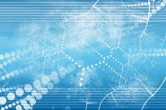 Samenvatting van het Netwerk van de technologie de Industriële royalty-vrije illustratie