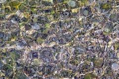 Samenvatting van het ondiepe water Stock Afbeelding
