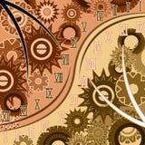 Samenvatting van tijd met roman cijfers vector illustratie