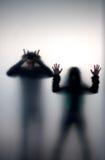 Samenvatting: Vreemdelingen Stock Foto