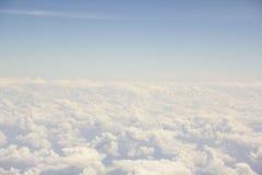 Samenvattings & als achtergrond Duidelijke hemel royalty-vrije stock foto