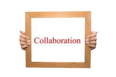 Samenwerking stock foto