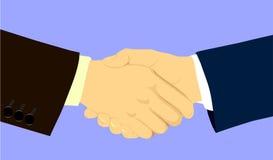 Samenwerking. stock illustratie
