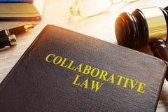 Samenwerkingswet of samenwerkingspraktijk, scheiding of familierecht royalty-vrije stock afbeelding