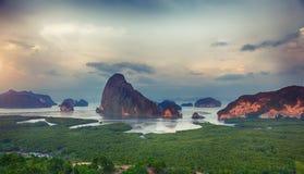Samet Nangshe punkt widzenia Fotografia Stock