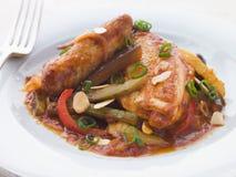 samfaina kurczaka Zdjęcie Stock