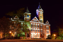 Samford Hall à l'université auburn photographie stock
