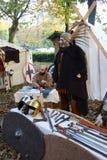 Samhain festivities. Historical reenactment of Samhain festivities, the Celtic New Year party held 28 to 31 October 2016 Motta Visconti, Lombardia, Italy Stock Image