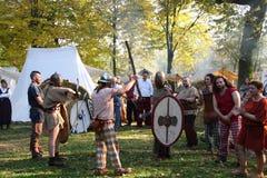 Samhainfestiviteiten Stock Foto
