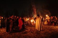 Samhainfestiviteiten Royalty-vrije Stock Afbeeldingen
