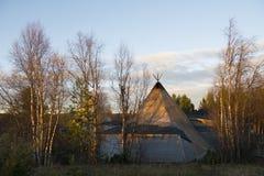 Sami σε Kiruna Στοκ Εικόνες