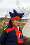 Sami. The Sami people are indigenous people of Europe�s northernmost and the Nordic countries Royalty Free Stock Image