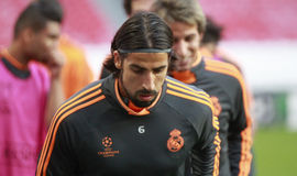 SAMI KHEDIRA Photo stock