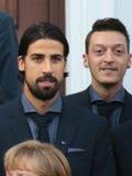 Sami Khedira, Mesut Oezil Royalty Free Stock Photos