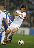 Sami Khedira of Real Madrid Stock Images