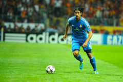 Sami Khedira of Real Madrid Royalty Free Stock Photography