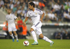 Sami Khedira of Real Madrid. During the Spanish Kings Cup match against UE Cornella at the Estadi Cornella on October 29, 2014 in Barcelona, Spain Royalty Free Stock Photo