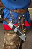 Sami Knife - part of the national costume of the Sami costume Royalty Free Stock Photography