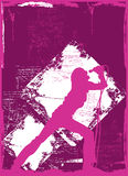 samica 2 piosenkarz Fotografia Royalty Free