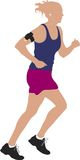samica biegacza Fotografia Stock