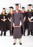 Samiec afrykański absolwent obrazy royalty free