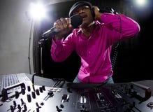Samiec DJ Obrazy Stock