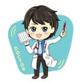 Samiec Doctor_3 royalty ilustracja