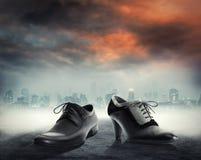 Samiec i kobiety buty dla przyjęcia Zdjęcie Stock