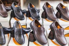 Samiec buty dla sprzedaży Zdjęcie Royalty Free