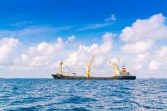 SAMIEC MALDIVES, Październik, - 04: Logistyki i transport Co Obrazy Stock