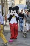 SAMIEC suknie JAKO MICKY mysz DLA MAŁEJ gotówki Zdjęcie Stock