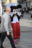 SAMIEC suknie JAKO MICKY mysz DLA MAŁEJ gotówki Zdjęcie Royalty Free