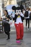 SAMIEC suknie JAKO MICKY mysz DLA MAŁEJ gotówki Fotografia Stock