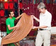 Samiec target880_0_ w Indiańskim sklepie obraz stock