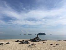 Samila plaża w ranku Obraz Stock