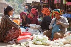 Samkar-Markt Lizenzfreie Stockbilder