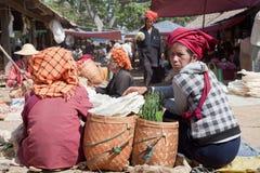 Samkar-Markt Stockbild