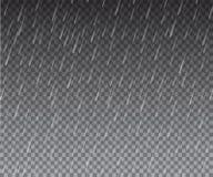 Samkopieringsregneffekt också vektor för coreldrawillustration Royaltyfri Bild