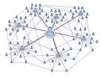 samkväm networking3 stock illustrationer