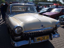 Samla av gamla bilar Arkivfoto
