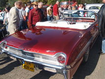 Samla av gamla bilar Arkivbilder