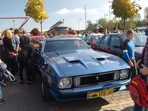 Samla av gamla bilar Royaltyfria Bilder