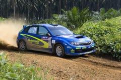 Samla den tävlings- bilen Royaltyfria Bilder