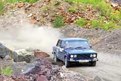 Samla sydliga Ural 2012 Arkivfoto