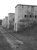 Samlar ljusa torn för västra sida av den tidigare Nazi Party jordning Royaltyfria Foton