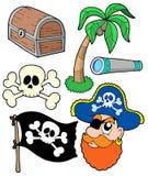 samling 2 piratkopierar Royaltyfri Fotografi