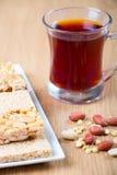 Samling av bönagodisar och sötsaker Mawlid Halawa Royaltyfria Foton