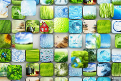 Samling av bilder Fotografering för Bildbyråer