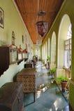 Samling av det Menezes Braganza Pereira huset, Indien royaltyfria bilder